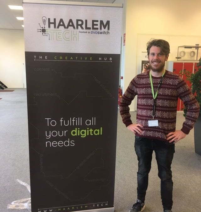 New banner for Haarlem.Tech is delivered
