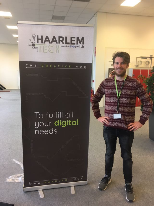New banner for technology and digital economy hub Haarlem.Tech