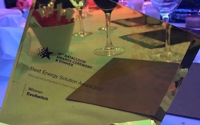 "EvoSwitch Wins ""Best Energy Solution'' award at Datacloud Awards 2017"
