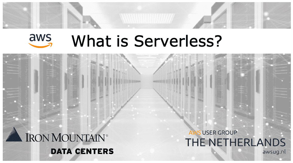 Serverless stories in a data center, Amazon Web Services meetup 2019