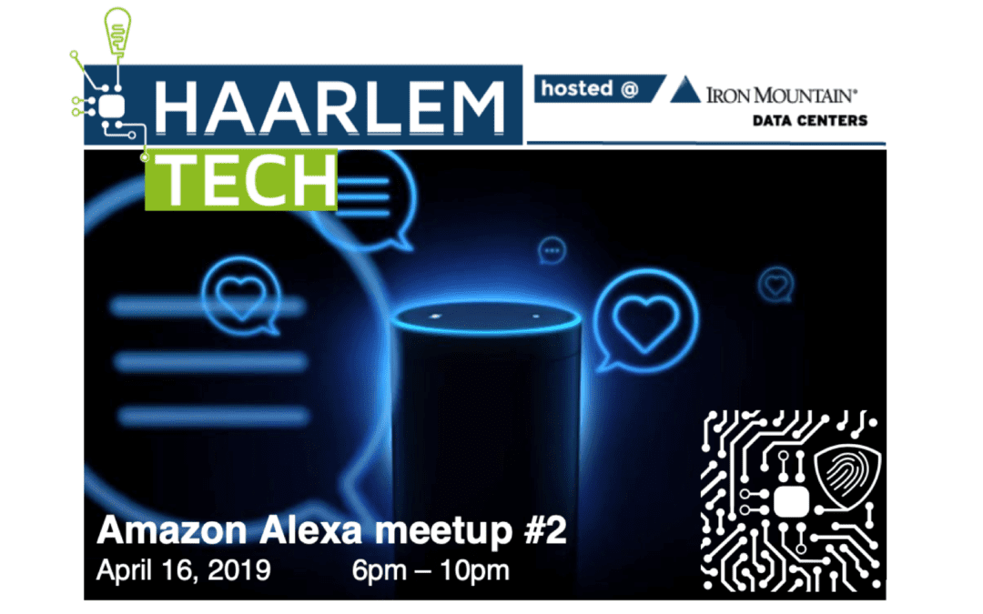 Voice User Interface: Amazon Alexa meetup, second edition